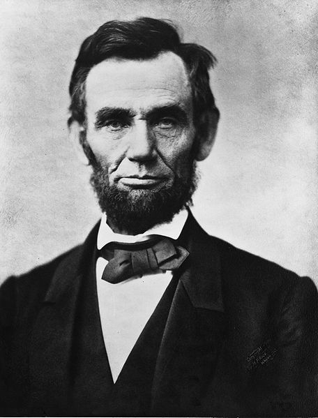 Picture of Abraham Lincoln.