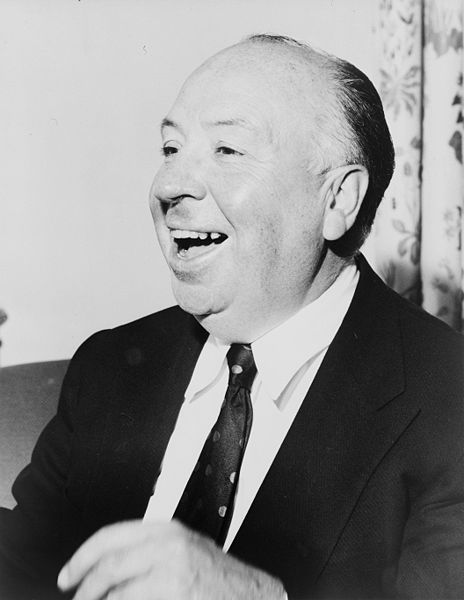 Picture of Alfred Hitchcock.