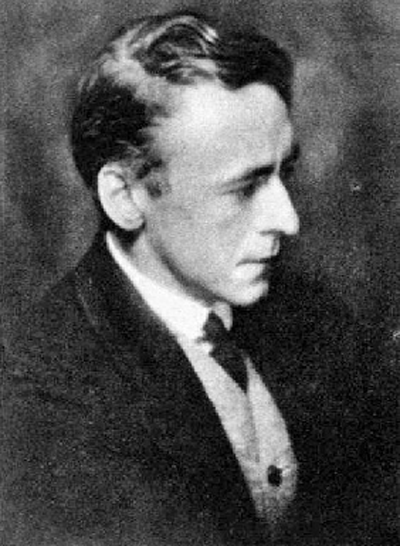 Picture of Arnold Bax. This image is in the public domain in the United States because it was first published outside the United States prior to January 1, 1923.