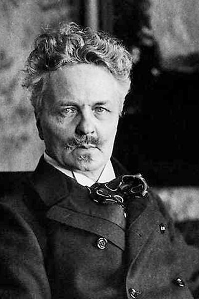 Picture of August Strindberg. This Swedish photograph is free to use.