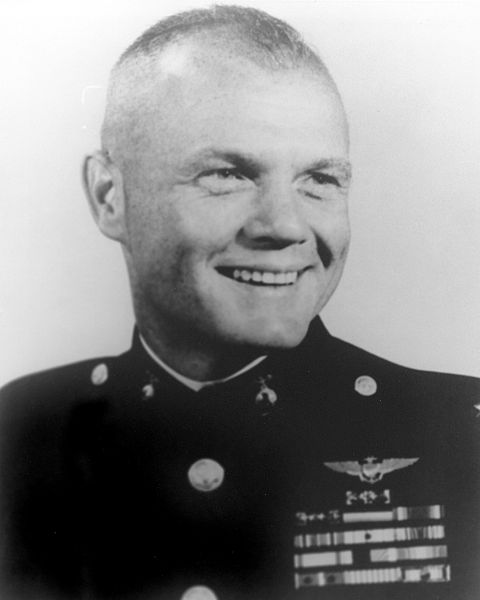 Picture of John Glenn.