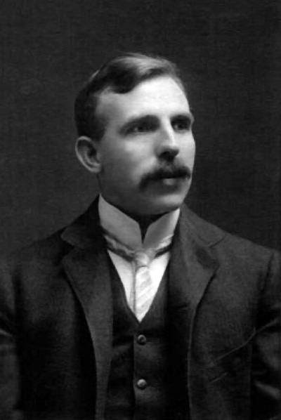 Picture of Ernest Rutherford. Ernest Rutherford, ca 1910