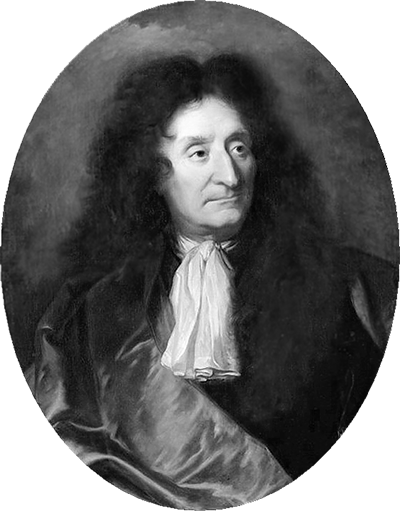 Picture of Jean de La Fontaine. This work is in the public domain in the United States, and those countries with a copyright term of life of the author plus 100 years or less.