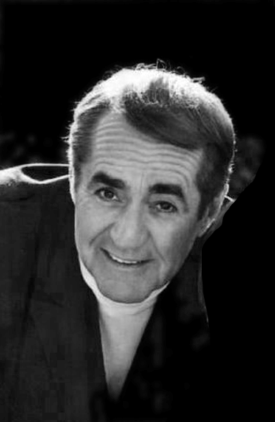 Picture of Jim Backus. This work is in the public domain in that it was published in the United States between 1923 and 1977 and without a copyright notice.