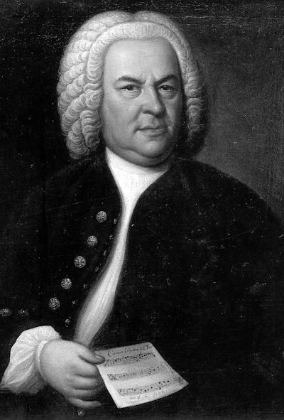 Picture of Johann Sebastian Bach. This work is in the public domain in the United States, and those countries with a copyright term of life of the author plus 100 years or less.