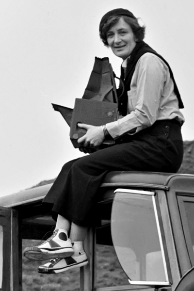 Picture of Dorothea Lange.
