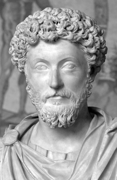 Picture of Marcus Aurelius. The copyright holder of this work, release this work into the public domain. This applies worldwide. In some countries this may not be legally possible; if so: the author grants anyone the right to use this work for any purpose, without any conditions, unless such conditions are required by law.
