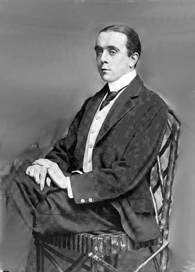 Picture of Max Beerbohm. Max Beerbohm, The Critic Volume XXXIX (November 1901), by Russell & Sons