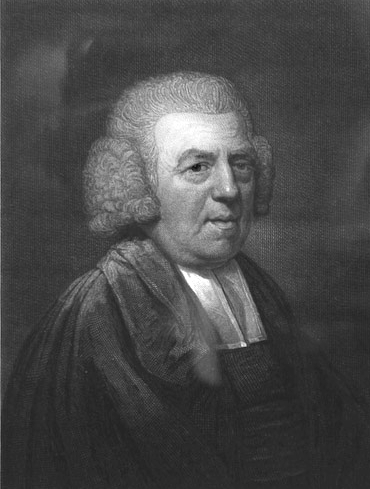 Picture of John Newton. This image is in the public domain because its copyright has expired.