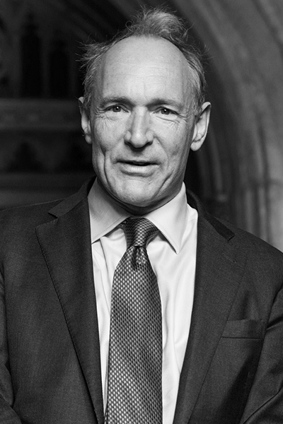 Picture of Tim Berners-Lee. Sir Tim arriving at the Guildhall to receive the Honorary Freedom of the City of London, 24 September 2014