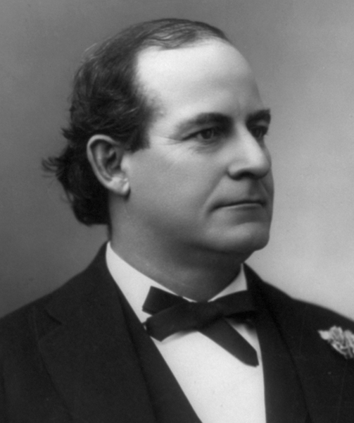 Picture of William Jennings Bryan. This image is in the public domain in the United States as it was first published prior to January 1, 1923