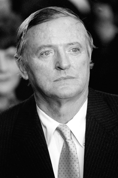 Picture of William F. Buckley, Jr.. William F. Buckley, Jr. attends the second inauguration of President Ronald Reagan, 21 January 1985.