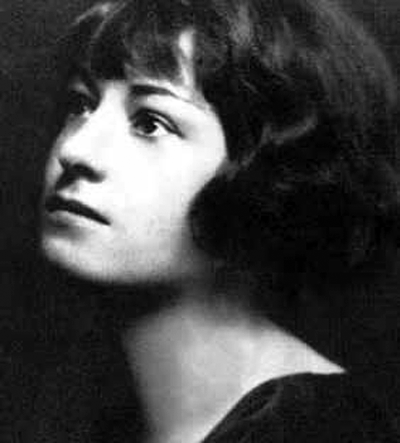 Picture of Dorothy Parker. This media file is in the public domain in the United States.