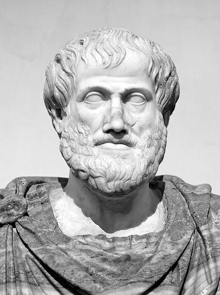 Picture of Aristotle.