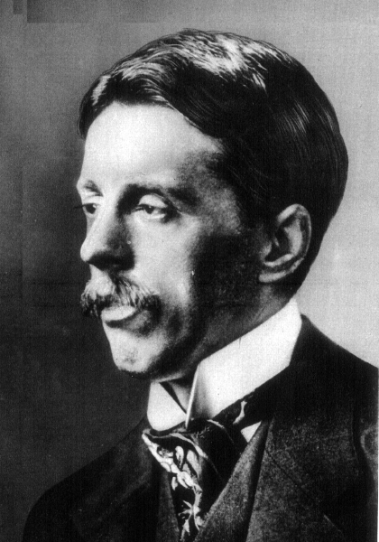 Picture of Arnold Bennett.