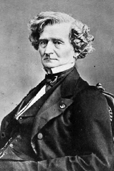 Picture of Hector Berlioz.
