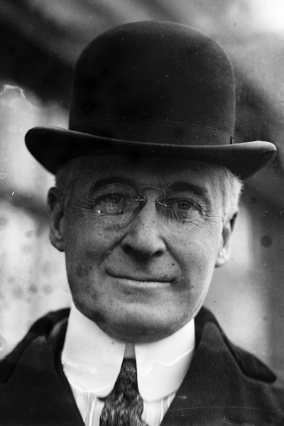 Picture of Bernard Baruch.