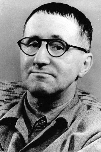 Picture of Bertolt Brecht.