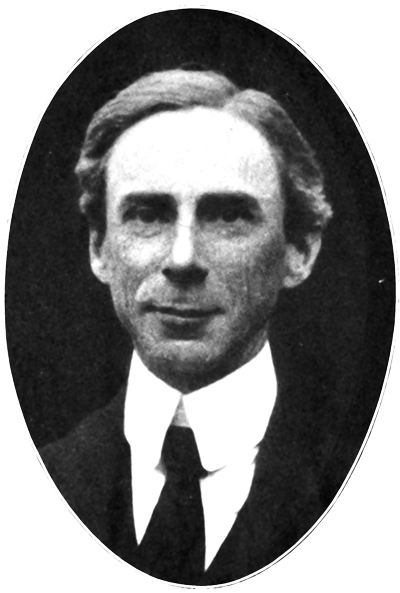 Picture of Bertrand Russell.