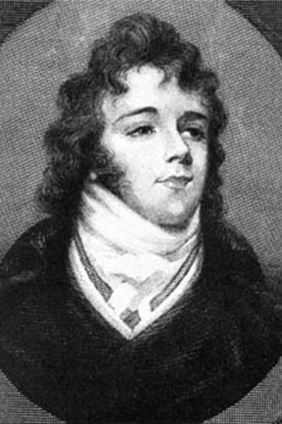 Picture of Beau Brummel. Beau Brummell, engraved in the 19th century from a portrait miniature.