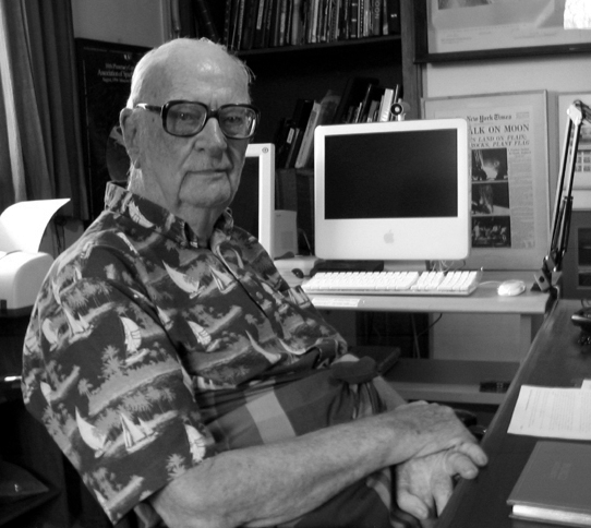 Picture of Arthur C. Clarke.