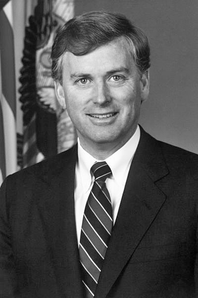 Picture of Dan Quayle. This image is a work of a U.S. military or Department of Defense employee, taken or made during the course of an employee's official duties. As a work of the U.S. federal government, the image is in the public domain.