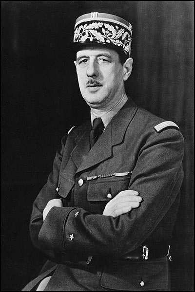 Picture of Charles de Gaulle.