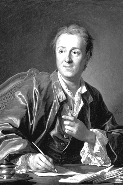 Picture of Denis Diderot.
