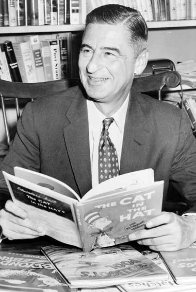 Picture of Dr Seuss.