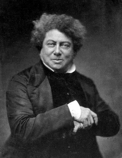 Picture of Alexandre Dumas. Alexandre Dumas, père, November 1855 by Nadar (1820–1910).