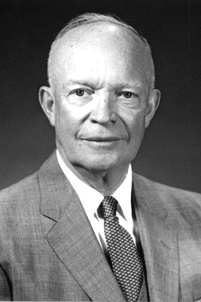 Picture of Dwight D. Eisenhower.