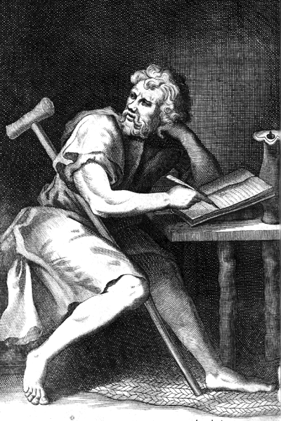Picture of Epictetus.