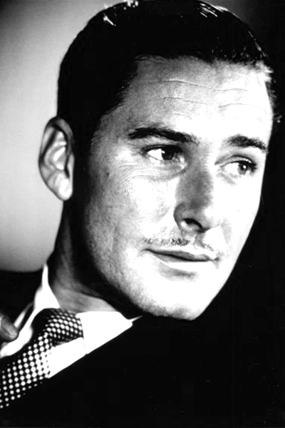 Picture of Errol Flynn.