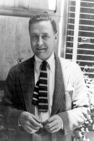 Picture of F. Scott Fitzgerald. Library of Congress, Prints and Photographs Division, Van Vechten Collection, reproduction number LC-USZ62-88103 DLC (b&w film copy neg.).