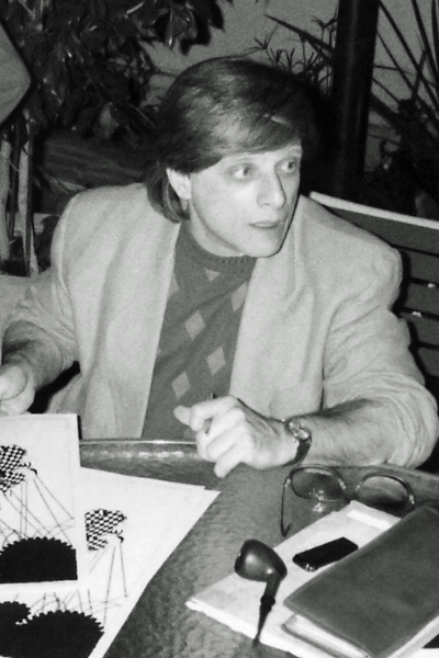 Picture of Harlan Ellison. Harlan Ellison at the Harlan Ellison Roast. L.A. Press Club July 12, 1986. Los Angeles, California. Photograph by Pip R. Lagenta from San Mateo.