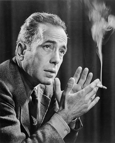 Picture of Humphrey Bogart.