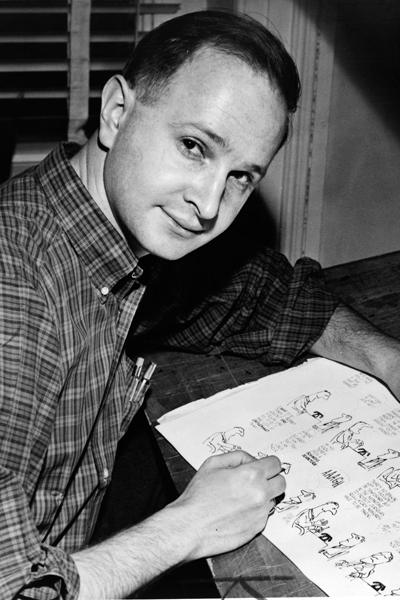 Picture of Jules Feiffer.