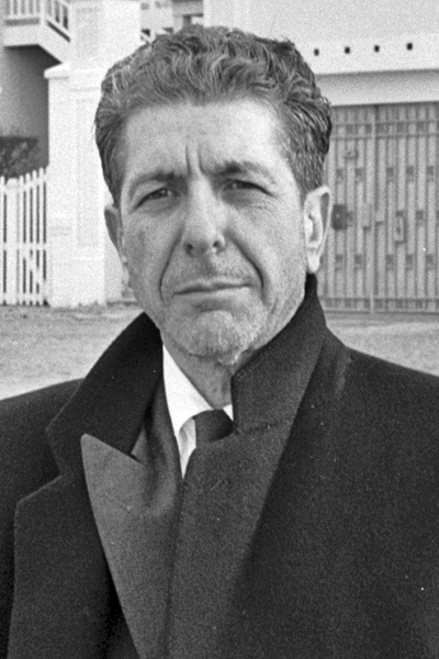 Picture of Leonard Cohen. Permission is granted to copy, distribute and/or modify this document under the terms of the GNU Free Documentation License, Version 1.2 or any later version published by the Free Software Foundation; with no Invariant Sections, no Front-Cover Texts, and no Back-Cover Texts. A copy of the license is included in the section entitled GNU Free Documentation License.