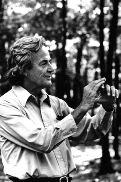 Picture of Richard Feynman. This work is in the public domain in the United States because it is a work prepared by an officer or employee of the United States Government as part of that person?s official duties under the terms of Title 17, Chapter 1, Section 105 of the US Code.