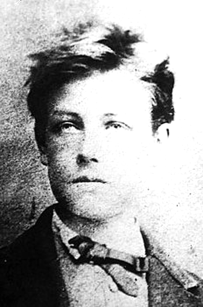 Picture of Arthur Rimbaud. This image is in the public domain because its copyright has expired. This applies to Australia, the European Union and those countries with a copyright term of life of the author plus 70 years.
