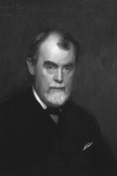 Picture of Samuel Butler. National Portrait Gallery. This image is in the public domain because its copyright has expired. This applies to the United States, Australia, the European Union and those countries with a copyright term of life of the author plus 70 years.