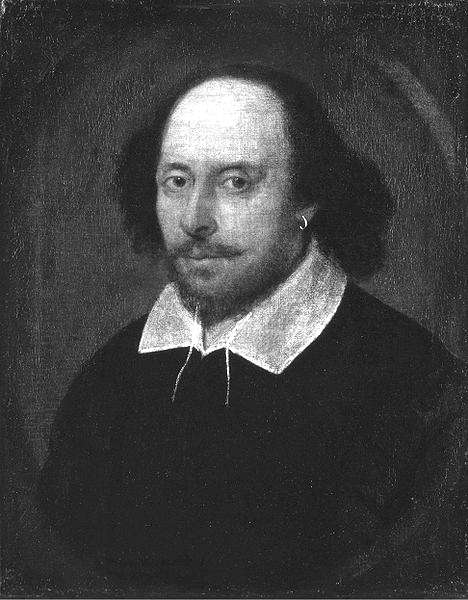 Picture of William Shakespeare. This work is in the public domain in the United States, and those countries with a copyright term of life of the author plus 100 years or fewer.