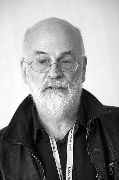 Picture of Terry Pratchett. This file is licensed under the Creative Commons Attribution 2.0 Generic license.
