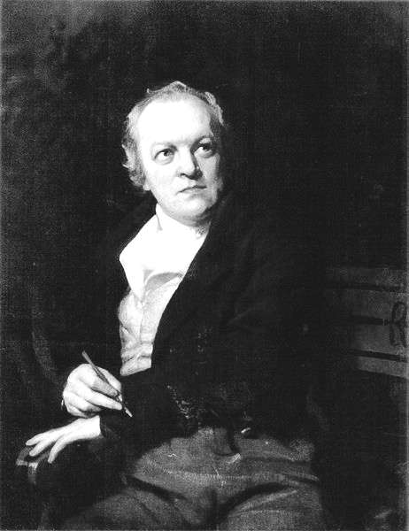 Picture of William Blake. This work is in the public domain in the United States, and those countries with a copyright term of life of the author plus 100 years or fewer.