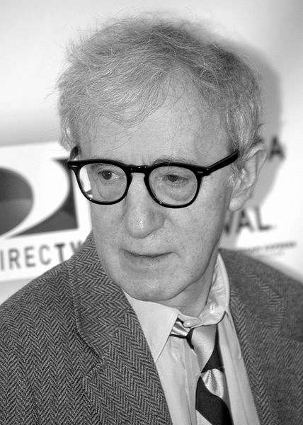 Picture of Woody Allen. This file is licensed under the Creative Commons Attribution 3.0 Unported license.